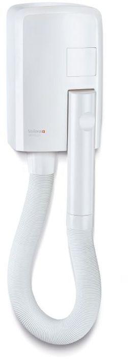 Valera Hotello, White фен832.01/TНастенный фен со шлангом. Мощность 1200 ВТ. Мощный воздушный поток благодаря новому дизайну воздушного модуля; автоматическое включение при снятии с держателя; Автоматическое отключение после 8 минут непрерывной работы; ненагревающаяся вращающаяся рукоятка Cool touch; растягивающийся шланг (до 1.2 м); легкий настенный монтаж без необходимости вскрытия корпуса; два способа подключения к электрической сети: прямое подключение к электрической сети или подключение к розетке.