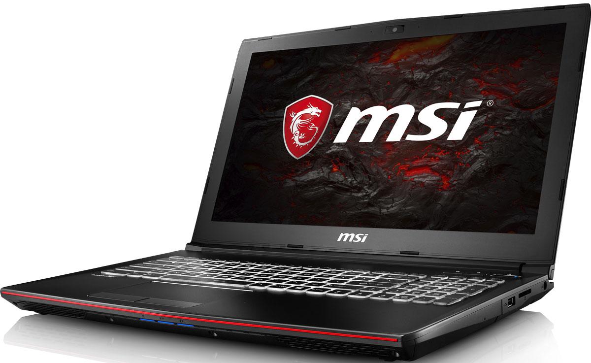 MSI GP62MVR 7RF-468RU Leopard Pro, BlackGP62MVR 7RF-468RUMSI GP62MVR 7RF Leopard Pro - это мощный ноутбук, который адаптирован для современных игровых приложений. Стильный шлифованный алюминиевый корпус прекрасно подчёркивает эстетику и мощь этой игровой машины.Великолепная комбинация игрового ноутбука MSI GP62MVR 7RF Leopard Pro и нового поколения графической карты NVIDIA GeForce GTX 1060 должна принести вам более совершенные ощущения в VR-мирах. Являясь единственным производителем, сертифицированным NVIDIA и HTC VIVE, компания MSI стала первым брендом на рынке игровых ноутбуков VR Ready. Мощнейшие мобильные VR-платформы MSI дарят своим пользователям исключительно плавный геймплей и поистине всеохватывающие ощущения в виртуальном пространстве.Дисплей с расширенной цветовой гаммой 72% NTSC поднимает качество изображения на совершенно новый уровень и делает его невероятно чётким. Благодаря более высокому разрешению резкость изображения повысилась на невероятные 40%, а его яркость при достаточном уровне контрастности увеличилась на целых 20% по сравнению с обычными TN-панелями. Не имеет значения, с какого угла вы смотрите на экран, изображение будет оставаться неизменно ярким и сочным. Продвинутые геймеры также оценят качество картинки, отметив её захватывающую реалистичность.7-ое поколение процессоров Intel Core серии H обрело более энергоэффективную архитектуру, продвинутые технологии обработки данных и оптимизированную схемотехнику. Производительность Core i7-7700HQ по сравнению с i7-6700HQ выросла в среднем на 8%, мультимедийная производительность — на 10%, а скорость декодирования/кодирования 4K-видео — на 15%. Аппаратное ускорение 10-битных кодеков VP9 и HEVC стало менее энергозатратным, благодаря чему эффективность воспроизведения видео 4K HDR значительно возросла.Запускайте игры быстрее других благодаря потрясающей пропускной способности PCI-E Gen 3.0x4 с поддержкой технологии NVMe на одном устройстве M.2 SSD. Используйте потенциал твердотельного диска Gen 3.0