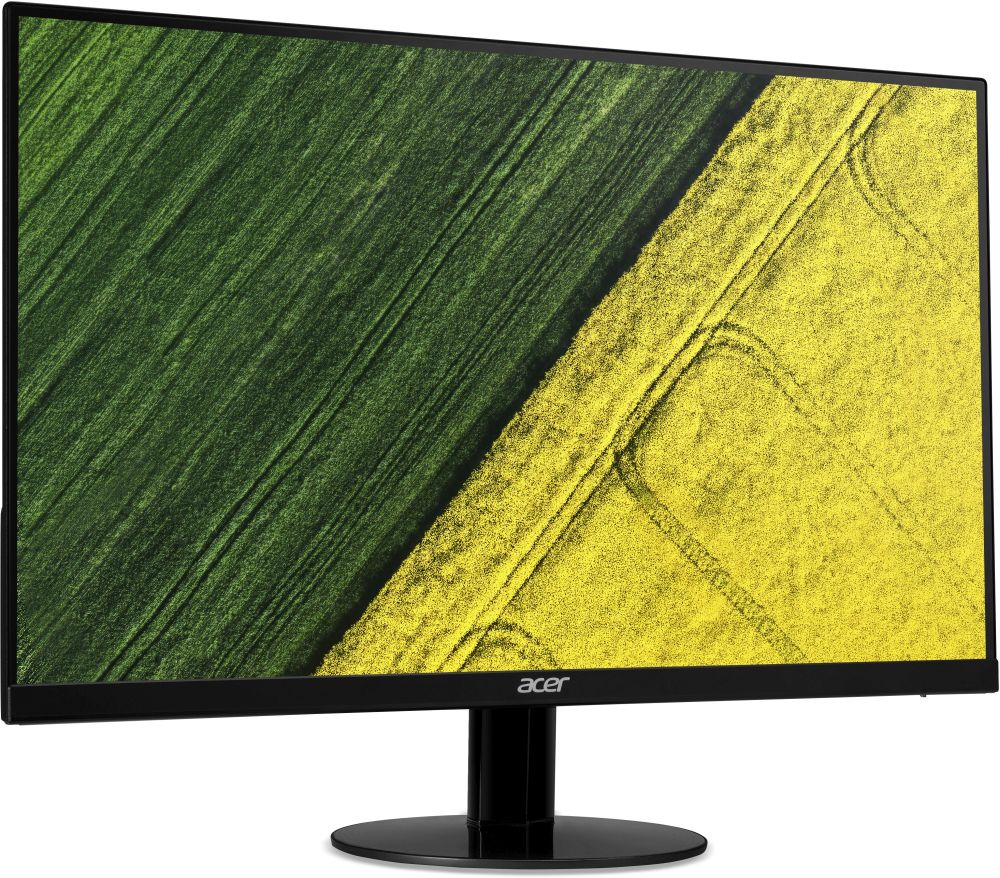 Acer SA270bid, Black мониторUM.HS0EE.001Монитор Acer 27 SA270bid черный IPS LED 4ms 16:9 DVI HDMI Mat 250cd