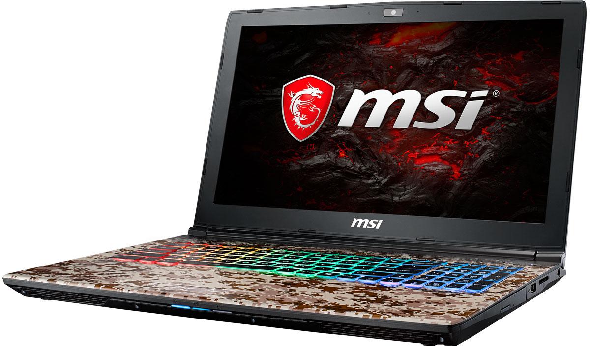 MSI GE62VR 7RF-690RU Apache Pro Camo SquadGE62VR 7RF-690RUКомпания MSI создала игровой ноутбук GE62VR 7RE Apache Pro с новейшим поколением графических карт NVIDIA GeForce GTX 1060. По ожиданиям экспертов производительность GeForce GTX 1060 должна более чем на 40% превысить показатели графических карт GeForce GTX 900M Series. Благодаря инновационной системе охлаждения Cooler Boost и специальным геймерским технологиям, применённым в игровом ноутбуке MSI GE62VR 7RE Apache Pro, графическая карта новейшего поколения NVIDIA GeForce GTX 1060 сможет продемонстрировать всю свою мощь без остатка. Олицетворяя концепцию Один клик до VR и предлагая полное погружение в игровые вселенные с идеально плавным геймплеем, игровые ноутбуки MSI разбивают устоявшиеся стереотипы об исключительной производительности десктопов. Ноутбуки MSI готовы поразить любого геймера, заставив взглянуть на мобильные игровые системы по-новому.7-ое поколение процессоров Intel Core серии H обрело более энергоэффективную архитектуру, продвинутые технологии обработки данных и оптимизированную схемотехнику. Производительность Core i7-7700HQ по сравнению с i7-6700HQ выросла в среднем на 8%, мультимедийная производительность - на 10%, а скорость декодирования/кодирования 4K-видео - на 15%. Аппаратное ускорение 10-битных кодеков VP9 и HEVC стало менее энергозатратным, благодаря чему эффективность воспроизведения видео 4K HDR значительно возросла.Запускайте игры быстрее других благодаря потрясающей пропускной способности PCI-E Gen 3.0x4 с поддержкой технологии NVMe на одном устройстве M.2 SSD. Используйте потенциал твердотельного диска Gen 3.0 SSD на полную. Благодаря оптимизации аппаратной и программной частей достигаются экстремальный скорости чтения до 2200 МБ/с, что в 5 раз быстрее твердотельных дисков SATA3 SSD.Вы сможете достичь максимально возможной производительности вашего ноутбука благодаря поддержке оперативной памяти DDR4-2400, отличающейся скоростью чтения более 32 Гбайт/с и скоростью записи 36 Гбайт/