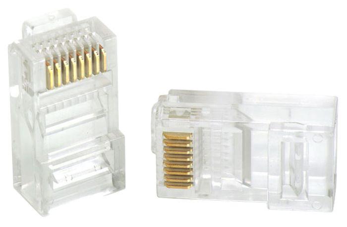 Vention RJ45 (8p8c) cat 5 коннектор под витую пару, 10 шт