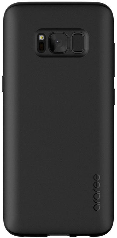 Araree Airfit чехол для Samsung Galaxy S8, BlackAR20-00230AЧехол обеспечит надежную устройства, не увеличивая размеры смартфона. Оснащен необходимыми отверстиями под порты икамеру.