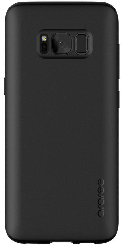 Araree Airfit чехол для Samsung Galaxy S8+, BlackAR20-00235AЧехол обеспечит надежную устройства, не увеличивая размеры смартфона. Оснащен необходимыми отверстиями под порты икамеру.