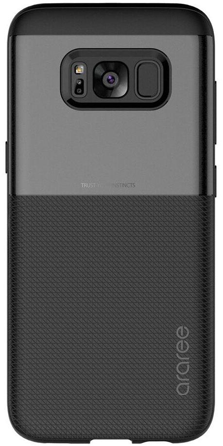 Araree Amy Classic чехол для Samsung Galaxy S8, BlackAR20-00240AЧехол обеспечит надежную устройства, не увеличивая размеры смартфона. Оснащен необходимыми отверстиями под порты икамеру.