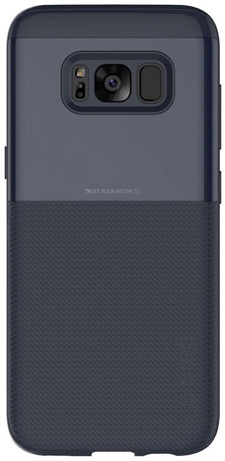 Araree Amy Classic чехол для Samsung Galaxy S8, BlueAR20-00240BЧехол обеспечит надежную устройства, не увеличивая размеры смартфона. Оснащен необходимыми отверстиями под порты икамеру.