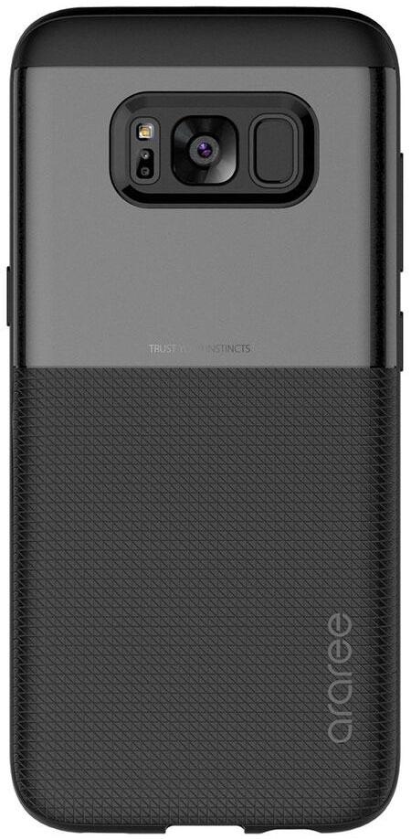 Araree Amy Classic чехол для Samsung Galaxy S8+, BlackAR20-00241AЧехол обеспечит надежную устройства, не увеличивая размеры смартфона. Оснащен необходимыми отверстиями под порты икамеру.