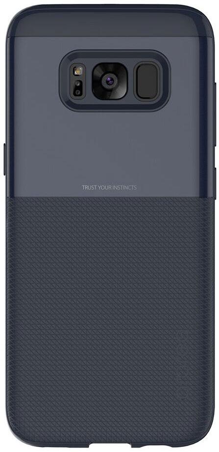Araree Amy Classic чехол для Samsung Galaxy S8+, BlueAR20-00241BЧехол обеспечит надежную устройства, не увеличивая размеры смартфона. Оснащен необходимыми отверстиями под порты икамеру.