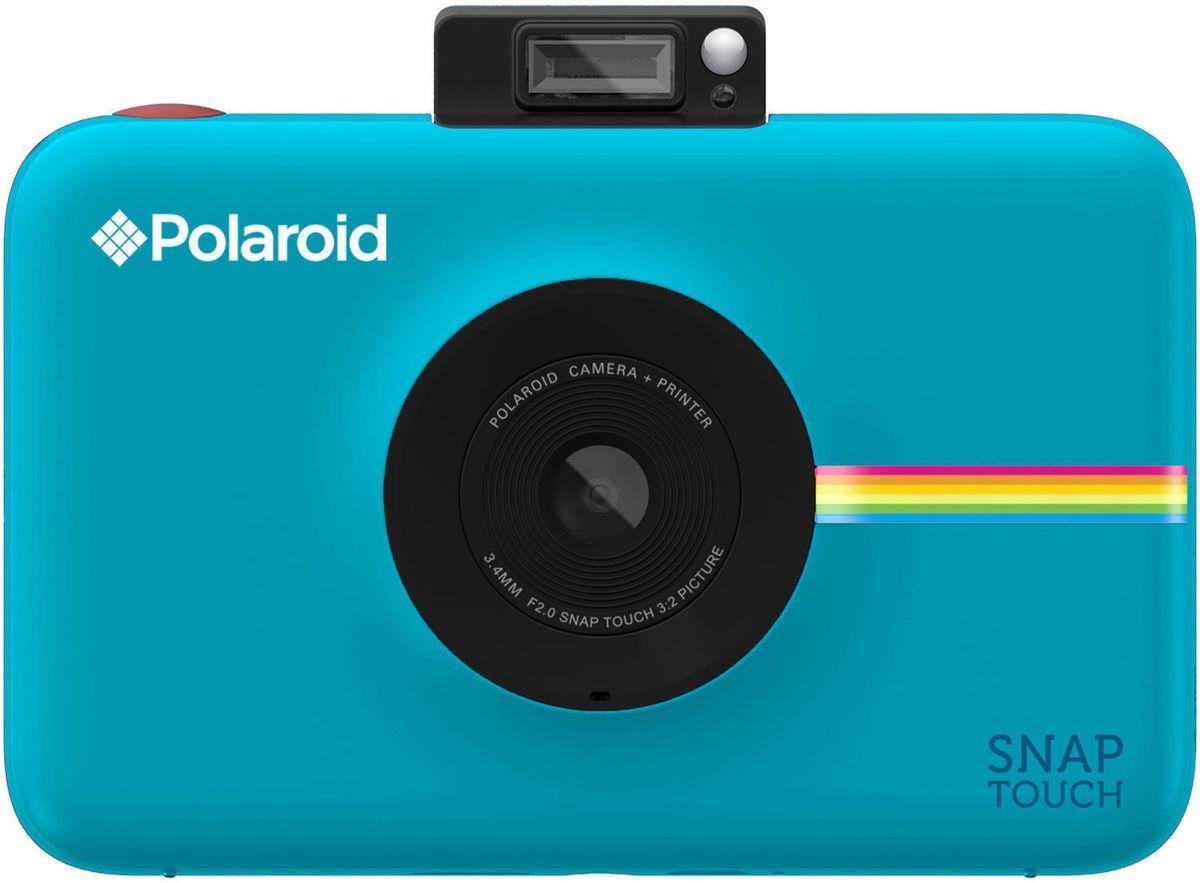 Polaroid Snap Touch, Blue моментальная фотокамераPOLSTBLНовый фотоаппарат Polaroid Snap Touch – все тот же «Полароид» из прошлого, только адаптированный под современные стандарты. Разработчики оснастили Polaroid Snap Touch 3,5-дюймовым сенсорным экраном, 13-мегапиксельной матрицей и слотом под карты microSD для хранения сделанных снимков. Если пользователю нужно быстро распечатать фотографию, в этом ему поможет технология ZINK Zero, которая позволяет печатать снимки размерами в 2х3 дюйма.Фотоаппарат Polaroid Snap Touch является довольно компактным, что позволяет использовать его в качестве обычной цифровой камеры без встроенного принтера.Разрешение матрицы, Мпикс: 13ЖК-экран: ЕстьДиагональ ЖК-экрана, дюймов: 3.5Поддерживаемые карты памяти: microSD, microSDHCФокусное расстояние: 3.4Диафрагма F2.8Формат отпечатков: 50x75 ммВремя печати снимка, секунд: 35Основные характеристики:Тип камеры: цифроваяОбъективВстроенный принтерПитаниеТип аккумуляторов: фирменный