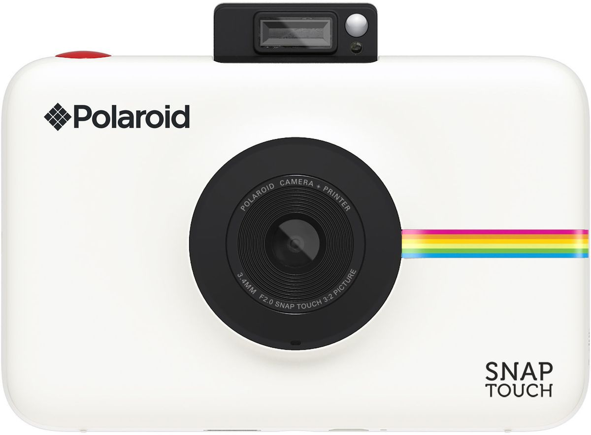 Polaroid Snap Touch, White моментальная фотокамера - Цифровые фотоаппараты