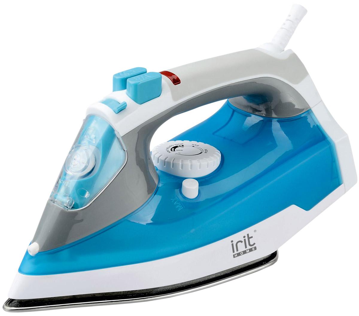 Irit IR-2228 утюгIR-2228Irit IR-2228 Утюг электрический Функция сухого глажения, функция спрея и пара, функция самоочистки, мягкая ручка, функция «усиленный выброс пара», вертикальное отпаривание,керамическое покрытие подошвы, Мощность: 2200 Вт