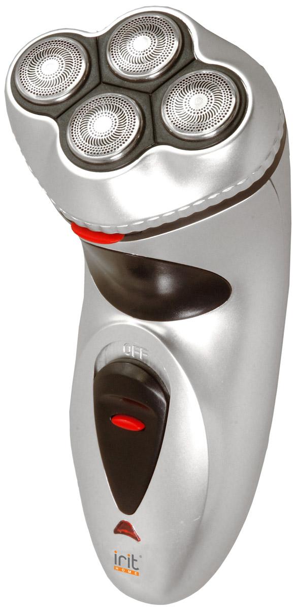 Irit IR-3019 бритва аккумуляторнаяIR-3019Irit IR-3019 Бритва электрическая аккумуляторная, мощность 3Вт, рабочее напряжение 220-240В/50Гц, работа от сети и от аккумулятора