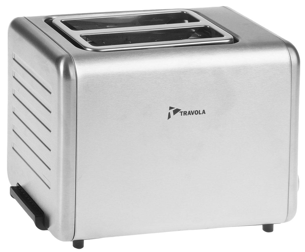 Travola TA1710-GS тостерTA1710-GSTravola TA1710-GS - это прибор, при помощи которого вы сможете готовить поджаренные и ароматные тосты. Тостер имеет 6 степеней прожарки, а также регулятор степени поджаривания и кнопку отмены. Модель отличается функциональностью, надежностью и простотой в использовании, что обеспечивается наличием съемного поддона для крошек и функции размораживания/подогрева.Победитель номинации Лучшая собственная торговая марка в сегменте ONLINE.Премия PRIVATE LABEL AWARDS (by IPLS) -международная премия в области собственных торговых марок, созданная компанией Reed Exhibitions в рамках выставки Собственная Торговая Марка (IPLS) 2016 с целью поощрения розничных сетей, а также производителей продовольственных и непродовольственных товаров за их вклад в развитие качественных товаров private label, которые способствуют росту уровня покупательского доверия в России и СНГ.