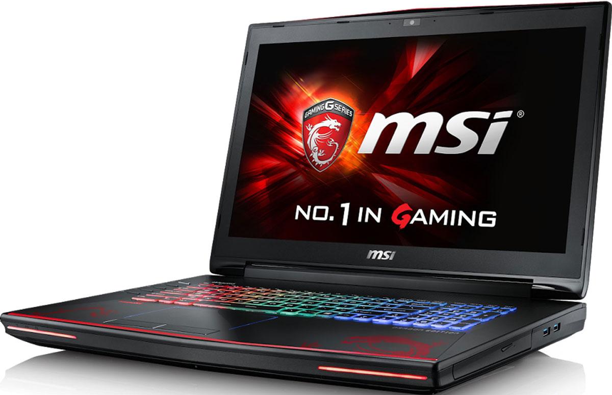 MSI GT72VR 7RE-612RU Dominator Pro Dragon, RedGT72VR 7RE-612RUПолированная металлическая крышка, эстетика линий и узнаваемый стиль MSI рифмуются в ноутбуке GT72VR 7RE Dominator Pro Dragon с дизайном суперкаров. Уникальные возможности разгона CPU и экстремальная графика GeForce GTX делают MSI GT72 доминирующей силой в мире киберспорта.Компания MSI создала игровой ноутбук с новейшим поколением графических карт NVIDIA GeForce GTX 10 Series. По ожиданиям экспертов производительность новой GeForce GTX 1070 должна более чем на 40% превысить показатели графических карт GeForce GTX 900M Series. Благодаря инновационной системе охлаждения Cooler Boost и специальным геймерским технологиям, применённым в игровом ноутбуке MSI GT72VR 7RE Dominator Pro Dragon, графическая карта новейшего поколения NVIDIA GeForce GTX 1070 сможет продемонстрировать всю свою мощь без остатка. Олицетворяя концепцию Один клик до VR и предлагая полное погружение в игровые вселенные с идеально плавным геймплеем, игровые ноутбуки MSI разбивают устоявшиеся стереотипы об исключительной производительности десктопов. Ноутбук MSI GT72VR 7RE Dominator Pro Dragon готов поразить любого геймера, заставив взглянуть на мобильные игровые системы по-новому.Седьмое поколение процессоров Intel Core серии H обрело более энергоэффективную архитектуру, продвинутые технологии обработки данных и оптимизированную схемотехнику. Производительность Core i7-7700HQ по сравнению с i7-6700HQ выросла в среднем на 8%, мультимедийная производительность - на 10%, а скорость декодирования/кодирования 4K-видео - на 15%. Аппаратное ускорение 10-битных кодеков VP9 и HEVC стало менее энергозатратным, благодаря чему эффективность воспроизведения видео 4K HDR значительно возросла.Запускайте игры быстрее других благодаря потрясающей пропускной способности PCI-E Gen 3.0x4 с поддержкой технологии NVMe на одном устройстве M.2 SSD. Используйте потенциал твердотельного диска Gen 3.0 SSD на полную. Благодаря оптимизации аппаратной и программной часте