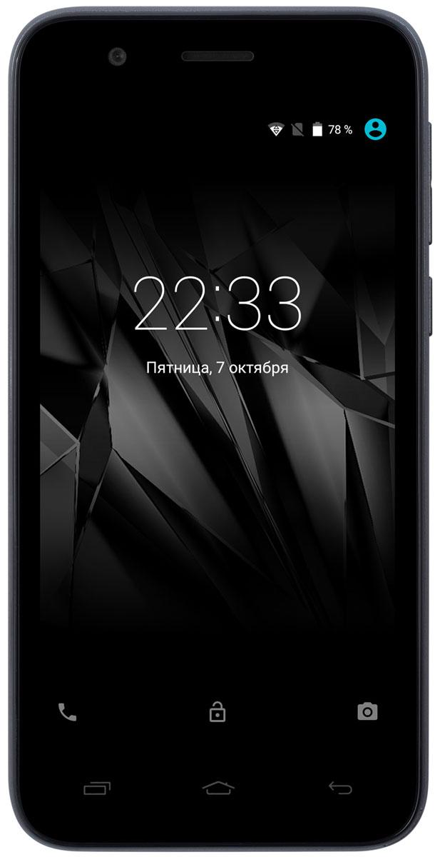Micromax Bolt Q346 Lite, GreyT028377Смартфон Micromax Bolt Q346 Lite понравится ценителям качественного видео и мобильных игр. Он снабжен 4,5-дюймовым экраном, обеспечивающим превосходную видимость изображения при просмотре с любого ракурса и делающим его очень реалистичным за счет ярких насыщенных оттенков.Поскольку смартфон оснащен мощным четырехъядерным процессором 1,2 ГГц, вы можете запускать одновременно несколько мобильных приложений.Основная камера с разрешением 5 Мпикс и фронтальная камера с разрешением 2 Мпикс, чтобы запечатлеть на фото интересные моменты.Будьте на связи с двумя разными номерами на одном телефоне благодаря поддержке двух SIM-карт.Храните обширную коллекцию фильмов и музыки на своем смартфоне: Micromax Bolt Q346 Lite поддерживает карты памяти объемом до 32 Гб.Телефон сертифицирован EAC и имеет русифицированный интерфейс меню и Руководство пользователя.