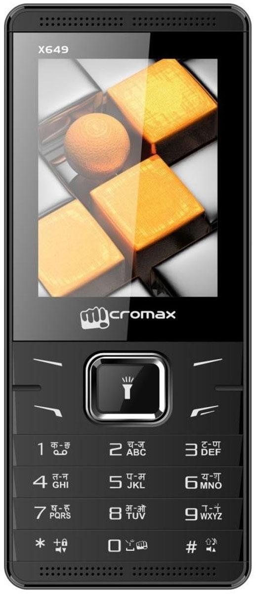 Micromax X704, BlackT016869Micromax X704 - сотовый телефон в эргономичном корпусе. В распоряжении пользователя все необходимые функции и возможности.Наслаждайтесь ярким цветным изображением на крупном 2,4-дюймовом экране телефона Micromax X704.Слушайте самые горячие музыкальные хиты и любимые мелодии с помощью встроенного аудиоплеера. Или переключитесь на FM-радио. Оставаться всегда на связи и использовать лучшие предложения на рынке мобильных услуг позволит поддержка двух SIM-карт.Телефон сертифицирован EAC и имеет русифицированную клавиатуру, меню и Руководство пользователя.