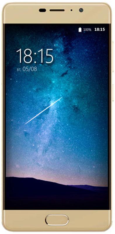 BQ 5202 Space Lite, Gold85953280Главные достоинства смартфона BQ 5202 Space Lite - это мощный 4-ядерный процессор MT6737 и 2 Гб оперативной памяти. Такое сочетание позволяет работать одновременно в нескольких приложениях, запускать новейшие игры, графические редакторы и самые современные программы. Заоптимизацию этих процессов отвечает новейшая операционная система Android 7.0, эффективно использующая все возможности устройства.Из инновационных технологий стоит отметить поддержку смартфоном технологии VoLTE обеспечивающую более качественную голосовую связь, а также сканер отпечатков пальцев, удобно расположенный на фронтальной части смартфона. Установленный аккумулятор емкостью 4000 мАч, это гарантия долгой работы смартфона даже в режиме разговора. За скоростной интернет серфинг отвечает модуль LTE позволяющий использовать сети четвертого поколения.Еще одним неоспоримым преимуществом BQ 5202 Space Lite является наличие двух камер с отличным разрешением. Фронтальная 8-мегапиксельная оптика подходит для селфи, видеозвонков и трансляций. Основная камера с разрешением 13 Мпикс, это практически профессиональный фотоаппарат в вашем кармане, макро и панорамная съемка, портреты и пейзажи, все эти режимы доступны вам в высоком качестве.Экран, созданный с применением технологии IPS, позволяет просматривать мультимедийные файлы в потрясающей цветовой гамме с идеальным контрастом. Стекло 2.5 D - дает дополнительную ударостойкость при падениях, а также делает смартфон эргономичнее, добавляя сбалансированности внешнему виду.Телефон сертифицирован EAC и имеет русифицированный интерфейс меню и Руководство пользователя.