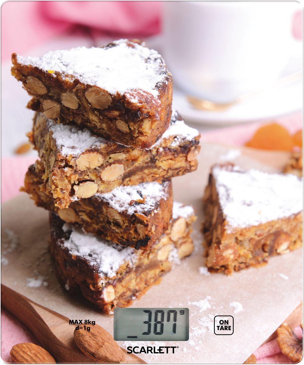Scarlett SC-KS57P32, Peanut Cookies весы кухонныеSC-KS57P32Весы кухонные, электронные, 8кг