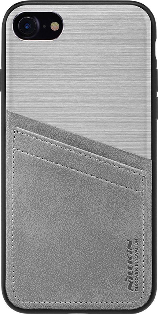 Nillkin Classy Case чехол для Apple iPhone 7, Silver2000000125114Чехол надежно защищает ваш смартфон от внешних воздействий, грязи, пыли, брызг. Он также поможет при ударах и падениях, не позволив образоваться на корпусе царапинам и потертостям. Чехол обеспечивает свободный доступ ко всем функциональным кнопкам смартфона и камере.