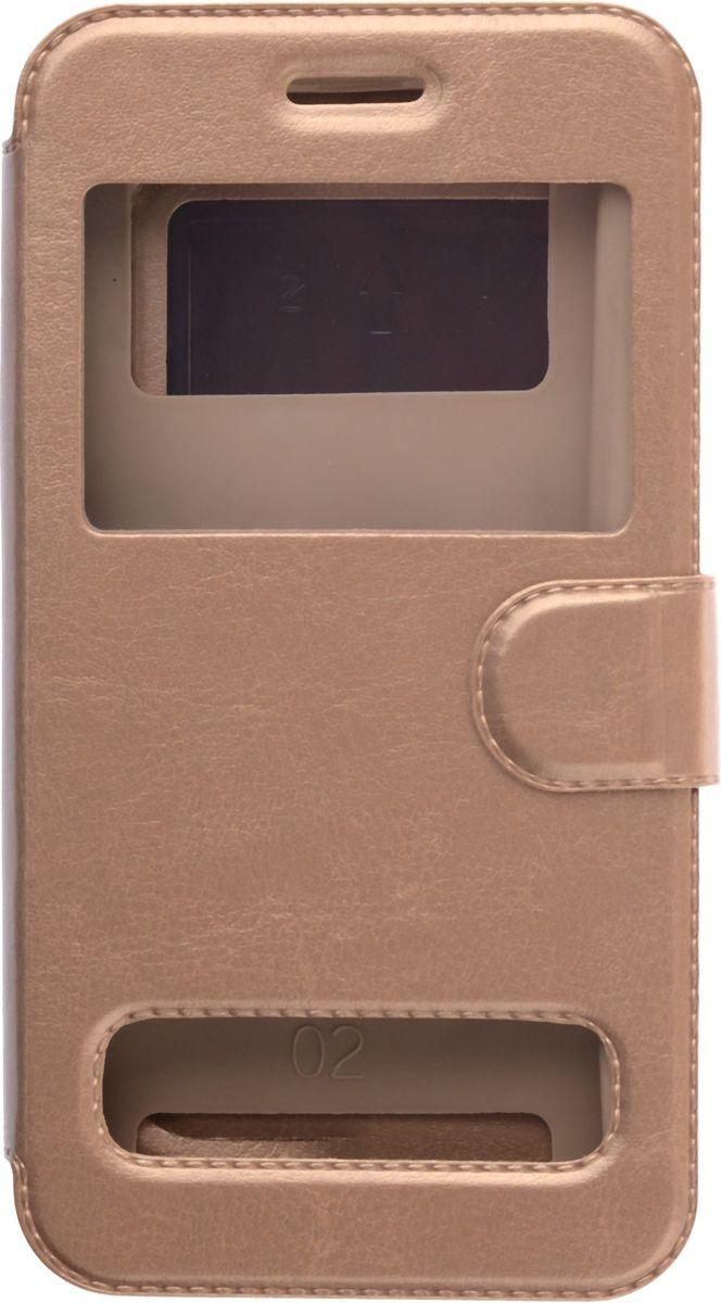Skinbox Silicone Slide универсальный чехол для смартфонов 5.0, Gold2000000132594Чехол надежно защищает ваш смартфон от внешних воздействий, грязи, пыли, брызг. Он также поможет при ударах и падениях, не позволив образоваться на корпусе царапинам и потертостям. Чехол обеспечивает свободный доступ ко всем функциональным кнопкам смартфона и камере.
