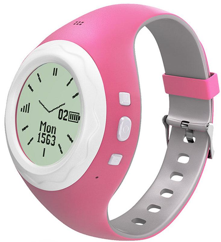 HIPER BabyGuard, Pink умные часыBG-01PNKЧасы-телефон HIPER BabyGuard предназначены для дошкольников и детей младшего школьного возраста и представляют собой синтез сотового телефона, адаптированного для использования детьми и GPS/LBS/WiFi-трекера, отслеживающего перемещение владельца в пространстве.Ключевые функции HIPER BabyGuard:Часы - показывают время, дату, месяц и день неделиШагомер - ведет учет активности. Подсчитывает пройденные шаги в приложенииТелефон - звонит по трем номерам, добавленным заранее. Есть встроенный динамик и микрофонШпионский звонок - скрытный вызов на часы, чтобы узнать, на уроке ли ребенокОпределение месторасположения - приложение-компаньон показывает месторасположение вашего ребенка в данный моментAnti-Lost - подает сигнал на потерянные часы, для того чтобы их можно было найтиГолосовые сообщения - возможность обмениваться голосовыми сообщениями с владельцами таких же часовГеозона - присылает уведомление, когда ребенок покинул геозону, например школу или спортзалКнопка SOS -в случае опасности одним нажатием кнопки набирает номер предварительно установленный в приложенииЭнергоэффективность - технология низкого энергопотребления ELLPСтандарт GSM: 900/1800/850/1900 МГц Тип сим-карты: microSIMПозиционирование: GPS, LBS, WiFi