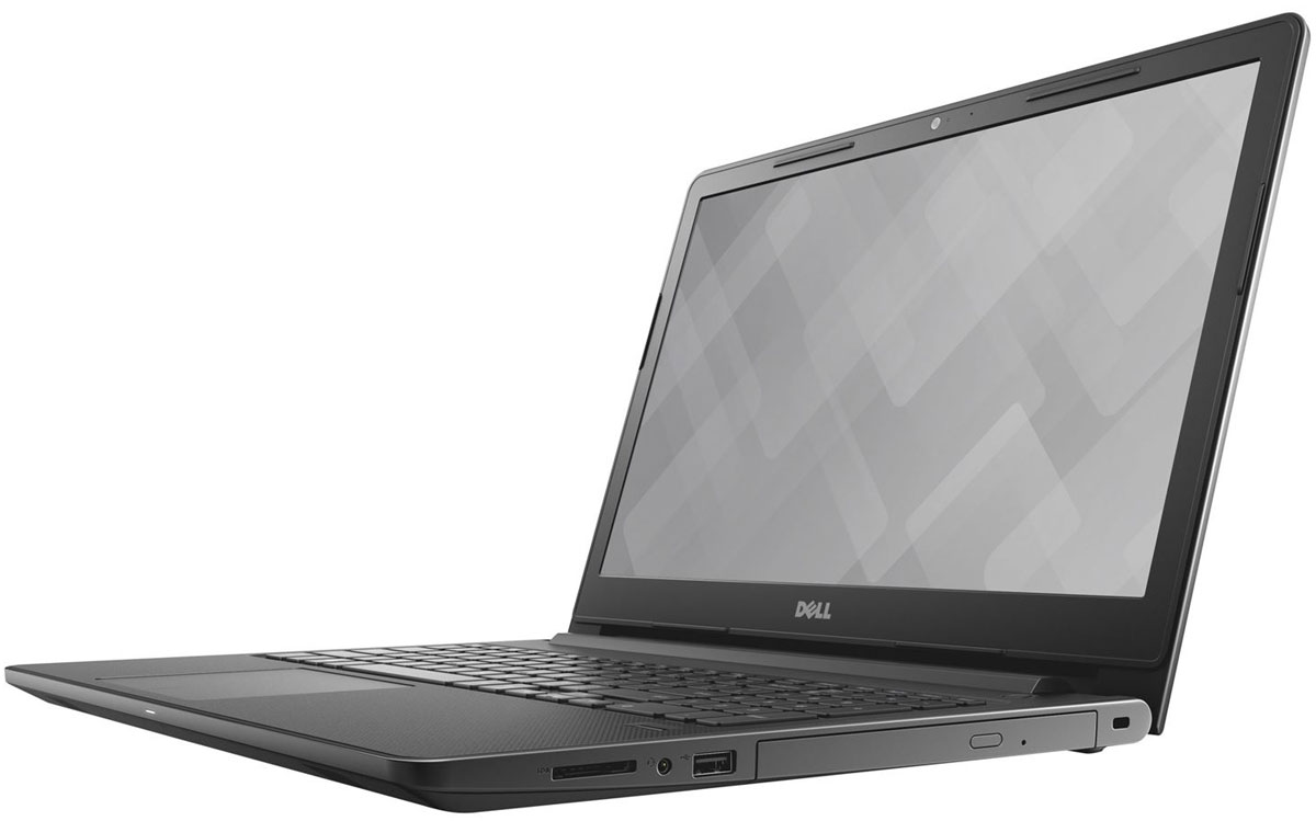 Dell Vostro 3568-9361, Black3568-9361Dell Vostro 3568 - идеальный 15-дюймовый (355,6 мм) ноутбук для профессионалов. Он оснащен большим экраном, цифровой клавиатурой и необходимыми функциями безопасности.Новейшие процессоры Intel Core обеспечивают все необходимые возможности для удобства вашей работы в офисе или дома. Можно выбрать вариант со встроенным выделенным графическим адаптером AMD с 2 Гбайт видео-ОЗУ DDR3L, чтобы улучшить производительность графической подсистемы.Специалисты, которые привыкли работать в режиме многозадачности, оценят достоинства поддержки до двух модулей памяти 2 SoDIMM и до 8 Гбайт объема памяти DDR4. С ними можно одновременно держать открытыми несколько приложений и переключаться между ними без задержки.Жесткий диск объемом до 1 Тбайт или твердотельный накопитель объемом до 256 Гбайт позволяет сохранять все самые важные документы в легкодоступном месте.Защитите данные малого бизнеса с помощью дополнительного аппаратного модуля TPM 2.0, который реализует защиту коммерческого класса и обеспечивает хранение ключей шифрования.Порты HDMI и VGA поддерживают периферийные устройства и упрощают подключение к проектору для проведения презентаций либо ко второму монитору для более эффективной работы.С дополнительным DVD-приводом вы сможете быстро копировать и переносить файлы, а также легко устанавливать программное обеспечение для вашего бизнеса.Точные характеристики зависят от модификации.Ноутбук сертифицирован EAC и имеет русифицированную клавиатуру и Руководство пользователя
