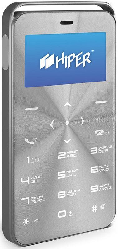 HIPER sPhone Vinyl, Silver мобильный телефон (C-01SLV)