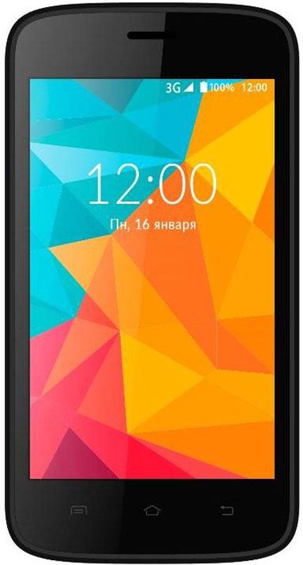 Vertex Impress Fit, BlackIMFIT-BLVertex Impress Fit - доступный и яркий смартфон для повседневного общения.Эргономичный и компактный корпус гарантирует комфортное использование смартфона при любых обстоятельствах. Яркие сменные панели в комплекте позволяют подобрать стиль смартфона под настроение. В комплекте синяя и красная задняя крышка.Яркий дисплей с диагональю 4 дюйма обеспечивает высокое качество изображения, что делает просмотр интернет-страниц, видео, совершение панорамной съемки, использование приложений и игр еще удобнее.Мощный 4-х ядерный процессор смартфона Impress Fit обеспечивает бесперебойную работу всех функций смартфона, а также качественное функционирование операционной системы и установленных приложений. Просмотр фильмов и видеороликов, игры, рабочие программы, Интернет - поддержка всех функций на максимальной скорости.С возможностью расширения встроенной памяти при помощи карты microSD развлечения и работа становятся комфортнее: игры, книги, рабочие программы в вашем смартфоне.Операционная система Android 6.0 Marshmallow и сервис Google Play предлагает огромный выбор приложений на любой вкус. Игры, музыка, социальные сети, навигационные карты, фото приложения и многое другое.Одновременная работа двух SIM-карт позволяет просто и удобно совместить личный и рабочий номер в одном телефоне.Телефон сертифицирован EAC и имеет русифицированный интерфейс меню и Руководство пользователя.