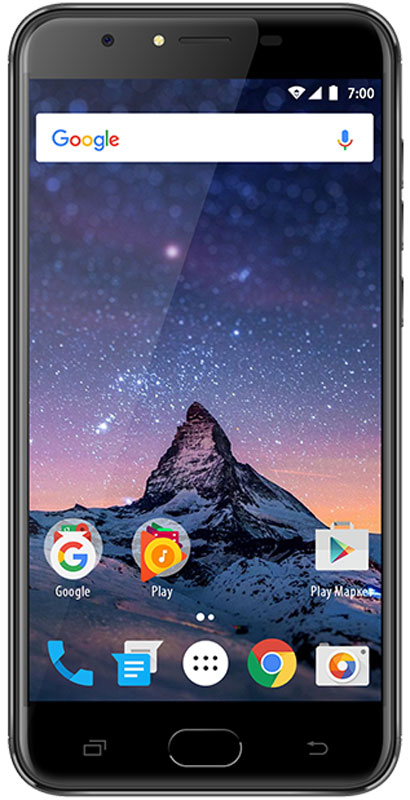 Vertex Impress Fortune, GraphiteFRTN-GRFСмартфон Vertex Impress Fortune оснащен металлическим корпусом, что обеспечивает дополнительный запас прочности и придает надежности. Сам корпус выглядит привлекательно и стильно.Данная модель оснащена большим и ярким IPS дисплеем размером 5,5 дюймов с разрешением HD и с технологией On-Cell, что дополняет стильный образ смартфона и позволяет максимально комфортно использовать возможности модели. IPS-матрица дисплея обеспечивает широкие углы обзора, а также высокую контрастность изображений и качественную цветопередачу.Смартфоноснащен мощным аккумулятором емкостью 3200 мАч, что обеспечивает длительное время работы смартфона в активном режиме.Благодаря 4-х ядерному процессору модель превосходно справляется с решением повседневных задач. Мощность процессора обеспечивает бесперебойную работу операционной системы и установленных приложений.Наличие двух камер 8 Мпикс и 2 Мпикс дает возможность делать фото, снимать видео, совершать видеозвонки, общаться в Skype и т.д. Дополнительные преимущества основной камеры: светодиодная вспышка.Для того, чтобы вы смогли всегда оставаться на связи модель Impress Fortune поддерживает работу двух SIM-карт, активных в режиме ожидания. Благодаря этому можно использовать возможности сразу двух операторов связи так, как удобно вам.Телефон сертифицирован EAC и имеет русифицированный интерфейс меню и Руководство пользователя.