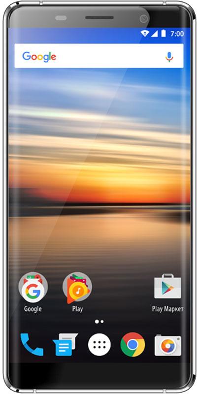 Vertex Impress Genius, BlackGNS4G-BLKСмартфон Vertex Impress Genius — ультрастильный 4G смартфон в металлическом корпусе и с безрамочным HD дисплеем.Благодаря 4-х ядерному процессору модель Impress Genius отлично подходит для решения повседневных задач. Мощность процессора обеспечивает бесперебойную работу операционной системы и установленных приложений. Смартфон оснащен 1 ГБ оперативной памяти и 8 ГБ встроенной, что позволяет эффективно использовать возможности интерфейса: Интернет, игры, приложения, фото и видео съемка, электронные книги и прочие дополнительные smart-функции. Для повышения работоспособности смартфона и увеличения объема памяти можно использовать microSD карты емкостью до 32 ГБ. Смартфон Vertex Impress Genius оснащен большим и ярким IPS дисплеем с разрешением HD и с технологией On-Cell, что дополняет стильный образ смартфона и позволяет максимально комфортно использовать возможности модели. IPS-матрица дисплея обеспечивает широкие углы обзора, а также высокую контрастность изображений и качественную цветопередачу.Уникальная конструкция корпуса с рамками толщиной всего 0,8 мм и 2.5D стекло толщиной 1,6 мм создают эффект изогнутого по краям дисплея. Безрамочный дисплей смартфона отлично сочетается с идеей дизайна, доставляя пользователю исключительное эстетическое удовольствие.Смартфон получил операционную систему Android 6.0 Marshmallow. ОС стала еще более функциональной и удобной для пользователя.Смартфон Vertex Impress Genius поддерживает высокоскоростной 4G интернет, что обеспечивает быструю передачу данных. Благодаря доступу к сетям LTE веб-серфинг стал еще проще и комфортнее: быстрая загрузка интернет-страниц, мгновенная отправка сообщений и файлов, просмотр видео на высокой скорости.Телефон сертифицирован EAC и имеет русифицированный интерфейс меню и Руководство пользователя.