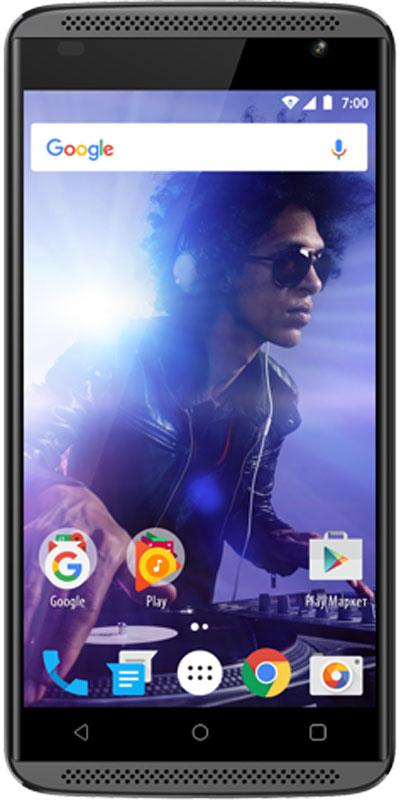 Vertex Impress Groove, GraphiteGRF-GRFСмартфон Vertex Impress Groove - музыкальный 3G смартфон с 3D звуком в стильном корпусе.Смартфон Vertex Impress Groove оснащен двумя фронтальными динамиками для великолепного объемного звука! Теперь любимая музыка еще громче! Отличный 3D звук без колонок и усилителей - все это смартфон Impress Groove.Яркий IPS дисплей дополняет стильный образ смартфона и позволяет максимально комфортно использовать возможности модели: просмотр сериалов и фильмов, фотографий, видео, чтение книг, общение с друзьями. Благодаря двум фронтальным динамикам вам доступен просмотр любимых фильмов и сериалов на максимальной громкости.Смартфон оснащен 4-х ядерным процессором, благодаря чему Vertex Impress Groove отлично подходит для решения различных повседневных задач. Мощность процессора обеспечивает бесперебойную и качественную работу операционной системы и установленных приложений. Смартфон имеет 1 ГБ оперативной памяти и 8 ГБ встроенной, что позволяет использовать стандартные функции максимально эффективно: Интернет, игры, приложения, фото и видео съемка, электронные книги и прочие дополнительные smart-функции. Для повышения работоспособности смартфона и увеличения объема памяти можно использовать microSD карты емкостью до 32 ГБ.Смартфон получил новейшую операционную систему Android 7.0 Nougat. Новая ОС стала еще более функциональной и удобной для пользователя. В Android 7.0 появляется ряд дополнительных возможностей и режимов работы, в большей степени ориентированных на пользователя. Операционная система Android 7.0 и сервис Google Play предлагает огромный выбор приложений на любой вкус. Игры, любимая музыка, социальные сети, навигационные карты, фото приложения и многое другое.Наличие двух камер 8 МП и 2 МП дает возможность делать фото, снимать видео, совершать видеозвонки, общаться в Skype и т.д. Дополнительные преимущества основной камеры: светодиодная вспышка.Для того, чтобы вы смогли всегда оставаться на связи модель Impress Groove поддерживает 