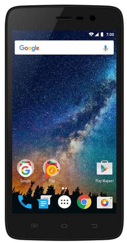 Vertex Impress Saturn, BlackSTRN-BLKСмартфон Impress Saturn – доступный и функциональный 4G смартфон с HD дисплеем.Корпус смартфона выполнен в стильном дизайне и ярких цветах. Задняя панель корпуса имеет сглаженные края, благодаря чему смартфон эргономичен и его приятно держать в руке. Задняя панель глянцевая и выполнена в трех цветах: классический черный, нежный золотой и дерзкий оранжевый.Смартфон Impress Saturn оснащен 5-ти дюймовым IPS дисплеем c разрешением HD, что позволяет максимально комфортно использовать возможности модели: просмотр фото и видео, серфинг в интернете, работа программ и приложений, чтение книг и другие функции. Смартфон Impress Saturn оснащен мощным аккумулятором емкостью 2200 мАч, что обеспечивает длительное время работы смартфона в активном режиме. Благодаря 4-х ядерному процессору модель Impress Saturn превосходно справляется с решением повседневных задач. Мощность процессора Spreadtrum SC9832 обеспечивает бесперебойную работу операционной системы и установленных приложений. Смартфон оснащен 1 ГБ оперативной памяти и 8 ГБ встроенной, что позволяет эффективно использовать возможности интерфейса: Интернет, игры, приложения, фото и видео съемка, электронные книги и прочие дополнительные smart-функции.Смартфон получил новейшую операционную систему Android 7.0 Nougat. Новая ОС стала еще более функциональной и удобной для пользователя. В Android 7.0 появляется ряд дополнительных возможностей и режимов работы, в большей степени ориентированных на пользователя. Смартфон Impress Saturn поддерживает высокоскоростной 4G интернет, что обеспечивает быструю передачу данных. Благодаря доступу к сетям LTE веб-серфинг стал еще проще и комфортнее: быстрая загрузка интернет-страниц, мгновенная отправка сообщений и файлов, просмотр видео на высокой скорости. Игры, фильмы, социальные сети - все намного быстрее!Наличие двух камер 5 МП и 2 МП дает возможность делать отличные фото, снимать видео, совершать видеозвонки, общаться в Skype и т.д. Дополнительные преи