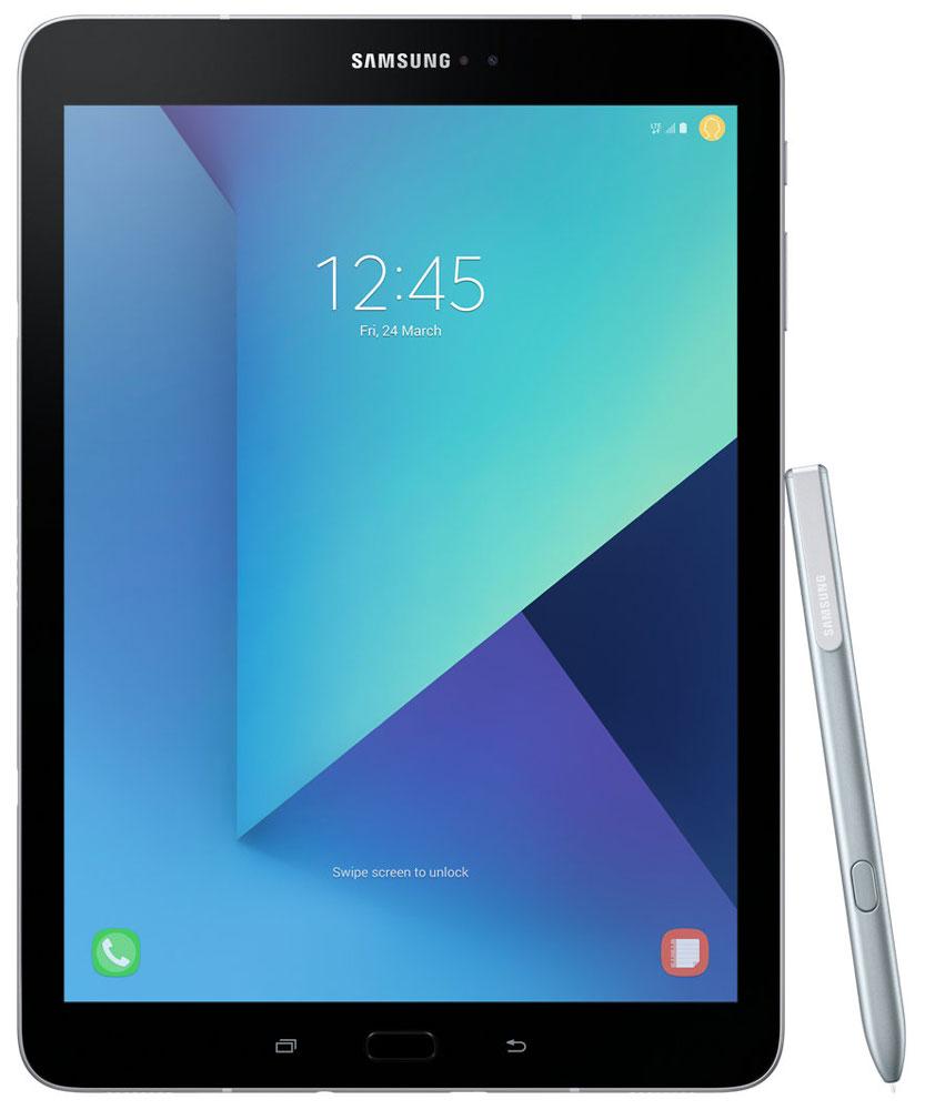 Samsung Galaxy Tab S3 9.7 SM-T825, SilverSM-T825NZSASERОткройте для себя роскошный и уникальный дизайн Samsung Galaxy Tab S3, сочетающий в себе металл и стекло, свойственный флагманам Galaxy. Глянцевое стекло на задней поверхности демонстрирует богатство глубины цвета, создавая тем самым современный внешний вид, который дополняется крепким и прочным металлом.Просматривайте видео в режиме HDR на высококонтрастном и ярком Super AMOLED дисплее Galaxy Tab S3, а четыре динамика, настроенные AKG, подарят объемный звук, создав атмосферу полного погружения.Мощный процессор Snapdragon 820 и 4 ГБ оперативной памяти позволят вам с легкостью выполнять сложные задачи, обеспечивают работу с несколькими приложениями одновременно, возможность играть в самые современные игры. Высококонтрастный экран Super AMOLED обеспечивает точную передачу всего цветового диапазона.Куда бы вы ни пошли, Galaxy Tab S3 заполнит ваше пространство высококачественным звуком. Это первый планшет Samsung с четырьмя адаптивными динамиками, благодаря которым вам будет доступен многоканальный звук, даже на ходу. Усовершенствованная система динамиков подарит вам богатый звук абсолютно из любого положения планшета. Если вы перевернули планшет - звуковой поток также перераспределится на другие колонки. Таким образом, звук всегда соответствует картинке.Функция Galaxy Game Launcher оптимизирована для экрана планшета Galaxy Tab S3 и включает такие опции, как Режим энергосбережения, Запись игры с возможностью загрузки в сеть, Игра без звука и опцию Поддержка текущих вызовов. Добавьте к существующей графике возможности Vulkan API по поддержке 3D графики, а также многочисленные игры из коллекции Galaxy Game Pack, и вы получите развлечения в режиме non-stop.Перо S Pen существенно изменилось. Теперь, используя электронное перо, вы испытаете те же ощущения, как и при использовании привычной ручки. Пользоваться S Pen очень легко и просто. Можно редактировать изображения, делать монтаж видео или переводить текст. К тому же 