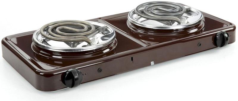 Пскова ЭПТ-2/2,0-220 Пскова-2 настольная плита, цвет коричневыйЭПТ-2/2,0-220 Pskova-2 (Пскова-2)Электрическая плитка Пскова-2 настольная удобна и достаточно проста в использовании. Ей одинаково удобно пользоваться как в доме, так и на улице. Две конфорки позволяют осуществлять приготовление одновременно двух блюд.Электроплитка снабжена:Поворотным нагревательным элементом типа ТЭН, позволяющим обеспечить удобство ухода за электроплиткой (чистку поддона)Световым индикатором, обеспечивающим индикацию включённого состояния нагревательного элементаДвумя регуляторами энергии, обеспечивающим возможность выбора оптимального режима нагрева каждой конфорки и экономии электроэнергииЭкраном из нержавеющей стали или алюминия, обеспечивающим более эффективный нагрев за счёт отражения тепловой энергииДиаметр конфорки (ТЭНА) 135 мм