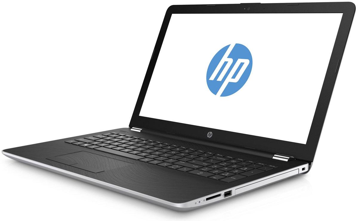 HP 15-bw060ur, Silver (2BT77EA)2BT77EAСтильный ноутбук HP 15-bw060ur, помимо выполнения повседневных задач, поможет вам оставаться на связи весь день. Благодаря неизменно высокой производительности и длительному времени работы от аккумулятора вы можете с комфортом пользоваться Интернетом, вести потоковое вещание и оставаться на связи с нужными людьми.Новейшие процессоры AMD обеспечивают неизменно высокую производительность, которая необходима для работы и развлечений. Надежность и долговечность ноутбука позволят легко выполнять все необходимые задачи.Развлекайтесь и оставайтесь на связи с друзьями и семьей благодаря превосходному дисплею HD (или Full HD в некоторых моделях) и камере HD в некоторых моделях. Кроме того, с этим ноутбуком ваши любимые музыка, фильмы и фотографии будут всегда с вами.Продуманная конструкция и замечательный дизайн этого ноутбука HP с дисплеем диагональю 39,6 см (15,6) идеально подойдут для вашего образа жизни. Изящное оформление, оригинальное покрытие и хромированное шарнирное крепление (на некоторых моделях) добавят немного цвета в будни.Полноразмерная клавиатура островного типа с цифровой клавишной панелью.Сенсорная панель с поддержкой технологии Multi-Touch.Точные характеристики зависят от модификации.Ноутбук сертифицирован EAC и имеет русифицированную клавиатуру и Руководство пользователя