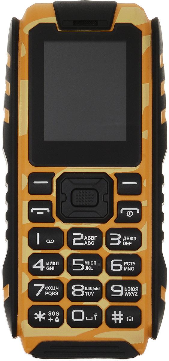 Vertex K202K202-HIBRМобильный телефон K202 - защищенный водонепроницаемый телефон с функцией powerbank.Телефон К202 имеет степень защиты IP68 и остается работоспособным при контактах с пылью, песком, грязью и водой, и даже при погружении в воду на глубину до 1 м. Благодаря специальному корпусу, стеклу и общей герметичности телефон надежно защищен и не подведет в экстренной ситуации. Также предусмотрена функция SOS.Защищенный телефон подойдет людям, которые любят активный отдых или занятия экстремальным спортом. Поход в лес, поездка на пляж, езда на велосипеде, квадроцикле, занятия водными видами спорта и многое другое.Телефон Vertex K202 поддерживает функцию powerbank (внешний аккумулятор) на 4400 мАч. Это значит, что при необходимости можно зарядить любое другое устройство при помощи мобильного телефона К202.Для того, чтобы вы смогли всегда оставаться на связи модель К202 поддерживает работу двух SIM-карт, активных в режиме ожидания. Благодаря этому можно использовать возможности сразу двух операторов связи так, как удобно вам.