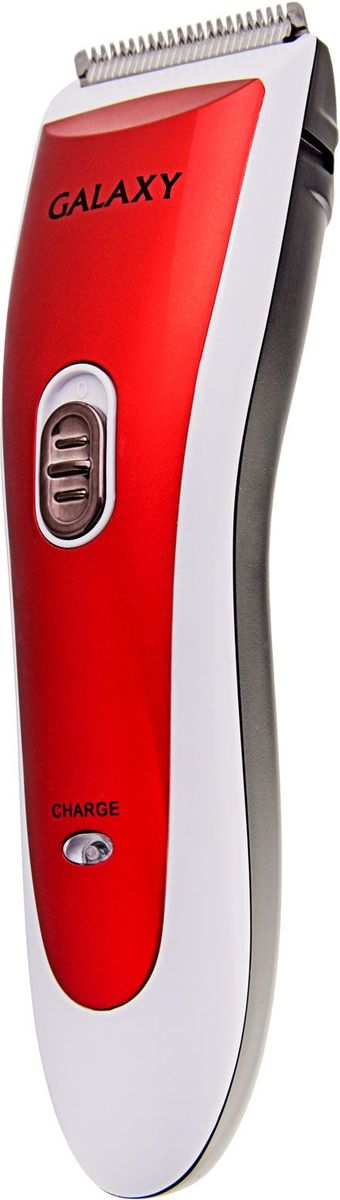 Galaxy GL 4157, Red машинка для стрижки4650067302874Характеристики: 2 насадки-расчески.Лезвие шириной 40 мм.Лезвие из высококачественной японской нержавеющей стали.Индикаторы заряда и работы.Время непрерывной работы, мин: 45.Эргономичный дизайн.Работа от аккумулятора.