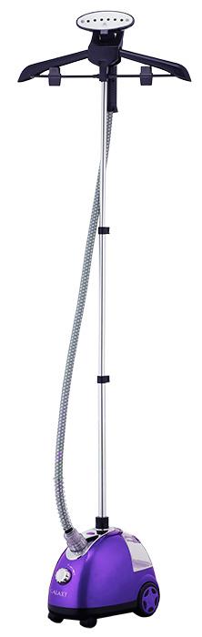 Galaxy GL 6205, Purple отпариватель4650067303154Характеристики:Мощность, Вт: 1700.Объем контейнера для воды 1,5 л.Время нагрева 35 сек.Время непрерывной работы до 35 мин.Выход пара 40 мл/мин. Трехсекционная телескопическая стойка высотой 122,5 см. Теплоизоляционный шланг для подачи пара длиной 115 см.Колесики для удобства перемещения.Индикаторы работы.Температура пара 98° С.Регулятор интенсивности выхода пара.Автоотключение при отсутствии воды.Питание 220-240В, 50 Гц. Современный уникальный многофункциональный электроприбор, сочетающий в себе функции:-глажки;-чистки;-дезинфекции.