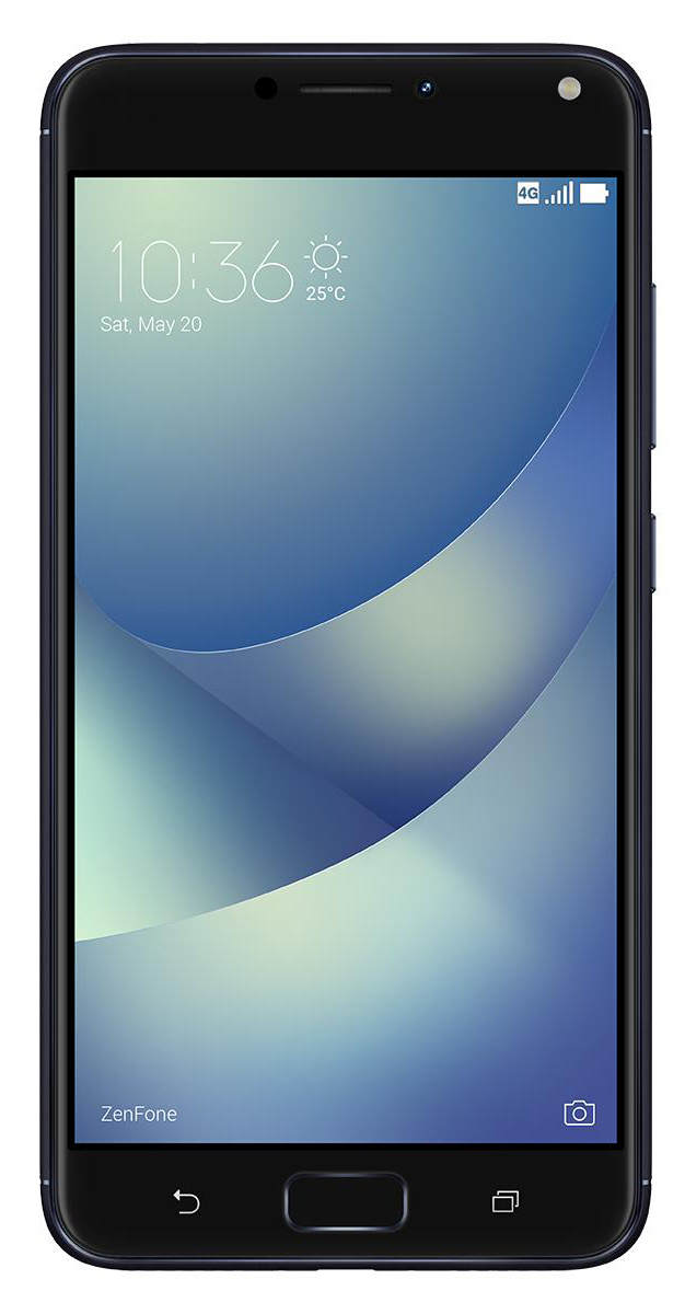 ASUS ZenFone 4 Max ZC554KL, Black90AX00I1-M00010Смартфон ASUS ZC554KL-4A001RU 5.5 HD;Qualcomm MSM8917;2GB;16GB;Android 7.0;WiFi;BT;LTE;2Sim Nano;Black