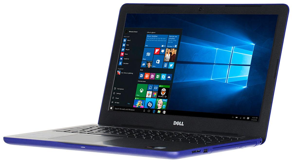 Dell Inspiron 5567-3553, Midnight Blue5567-3553Производительный процессор шестого поколения Intel Core i5, стильный дизайн и цвета на любой вкус - ноутбук Dell Inspiron 5567 - это идеальный мобильный помощник в любом месте и в любое время. Безупречное сочетание современных технологий и неповторимого стиля подарит новые яркие впечатления.Сделайте Dell Inspiron 5567 своим узлом связи. Поддерживать связь с друзьями и родственниками никогда не было так просто благодаря надежному WiFi-соединению и Bluetooth, встроенной HD веб-камере высокой четкости, ПО Skype и 15,6-дюймовому экрану, позволяющему почувствовать себя лицом к лицу с близкими.15,6-дюймовый экран с разрешением HD ноутбука Dell Inspiron оживляет происходящее на экране, где бы вы ни были. Вы можете еще более усилить впечатление, подключив телевизор или монитор с поддержкой HDMI через соответствующий порт. Возможно, вам больше не захочется покупать билеты в кино.Выделенный графический адаптер AMD RadeonR7 M445 позволяет выполнять ресурсоемкие процедуры редактирования фотографий и видеороликов без снижения производительности.Смотрите фильмы с DVD-дисков, записывайте компакт-диски или быстро загружайте системное программное обеспечение и приложения на свой компьютер с помощью внутреннего дисковода оптических дисков.Точные характеристики зависят от модели.Ноутбук сертифицирован EAC и имеет русифицированную клавиатуру и Руководство пользователя.
