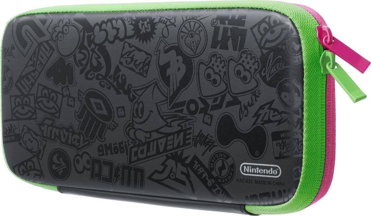 Nintendo чехол Splatoon 2 и защитная пленка для Switch - Аксессуары
