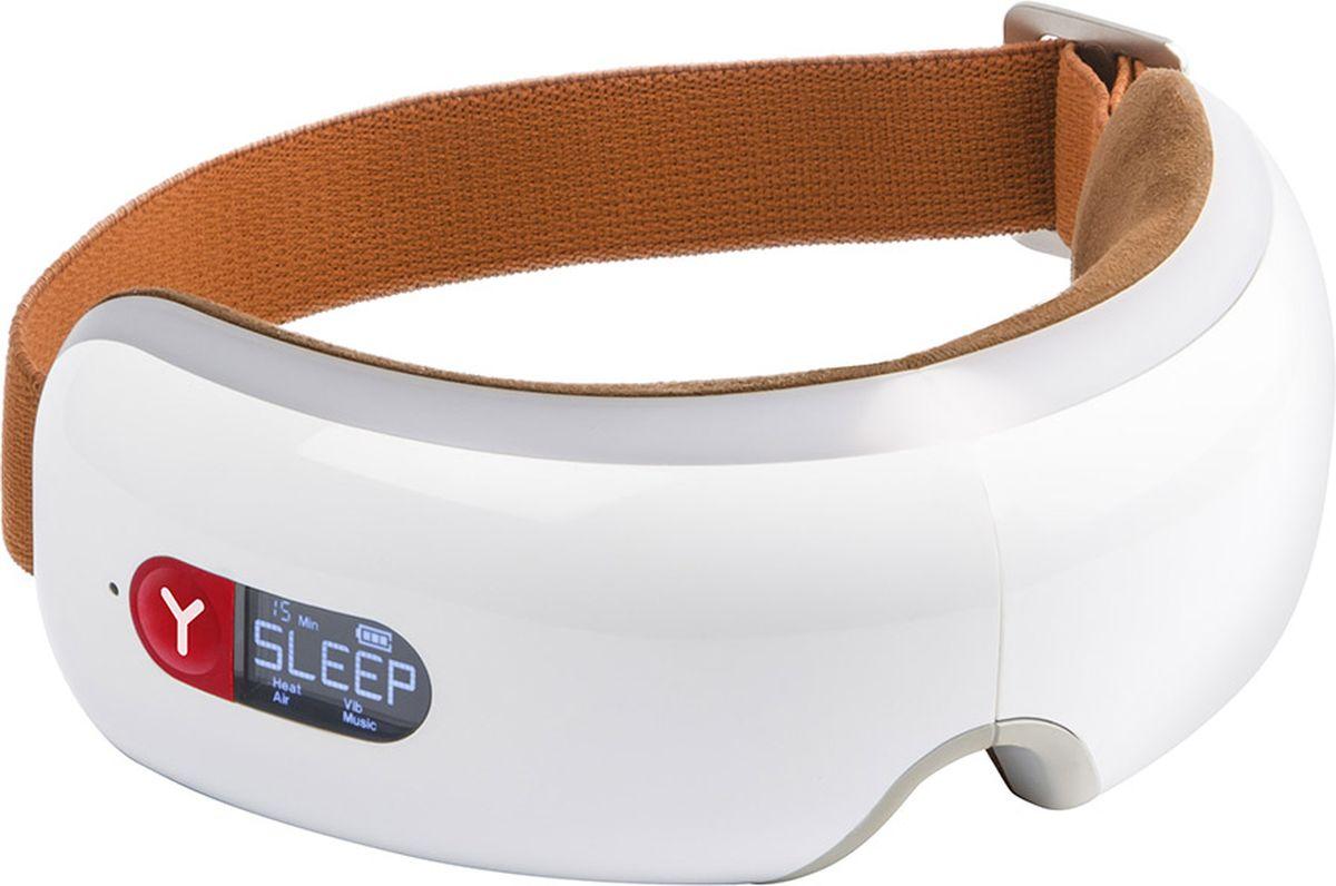Yamaguchi Массажер для глаз Axiom Eye AF (белый/терракотовый)1197Благодаря складной конструкции массажер занимает мало места, поместиться в дамскую сумочку. Работает от аккумулятора, что позволяет его брать с собойи использовать дома, в офисе или на отдыхе.Процедура массажа сопровождается приятными звуками природы, которые уменьшают тревожность и помогают снять стресс. За счет воздушной компрессии улучшается питание тканей, циркуляция крови и лимфы, ликвидируется отек. Активизируется окислительно-восстановительные процессы. Способствует прогреванию тканей, повышению тонуса кожи и мышц. Вибрация стимулирует капиллярное кровообращение. Прогрев усиливает прилив крови и улучшает питание тканей. Магниты снимают отеки и восстанавливают нервную деятельность. Эргономичный беспроводной дизайнВстроенный музыкальный плеерВоздушно-компрессионный массажВибрационный массаж Деликатный прогревМагнитотерапия 3 автоматических режима массажа Регулировка массажера по размеру головыСнятие усталости и стресса Профилактика болей в височной областиЛифтинг эффектМассажер работает от литиевой батареи, 3-4 часа непрерывной работы Удобная сумочка для транспортировки и хране¬ния в комплекте