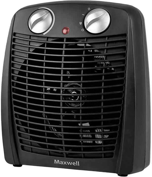 цены  Maxwell MW-3455(BK) тепловентилятор