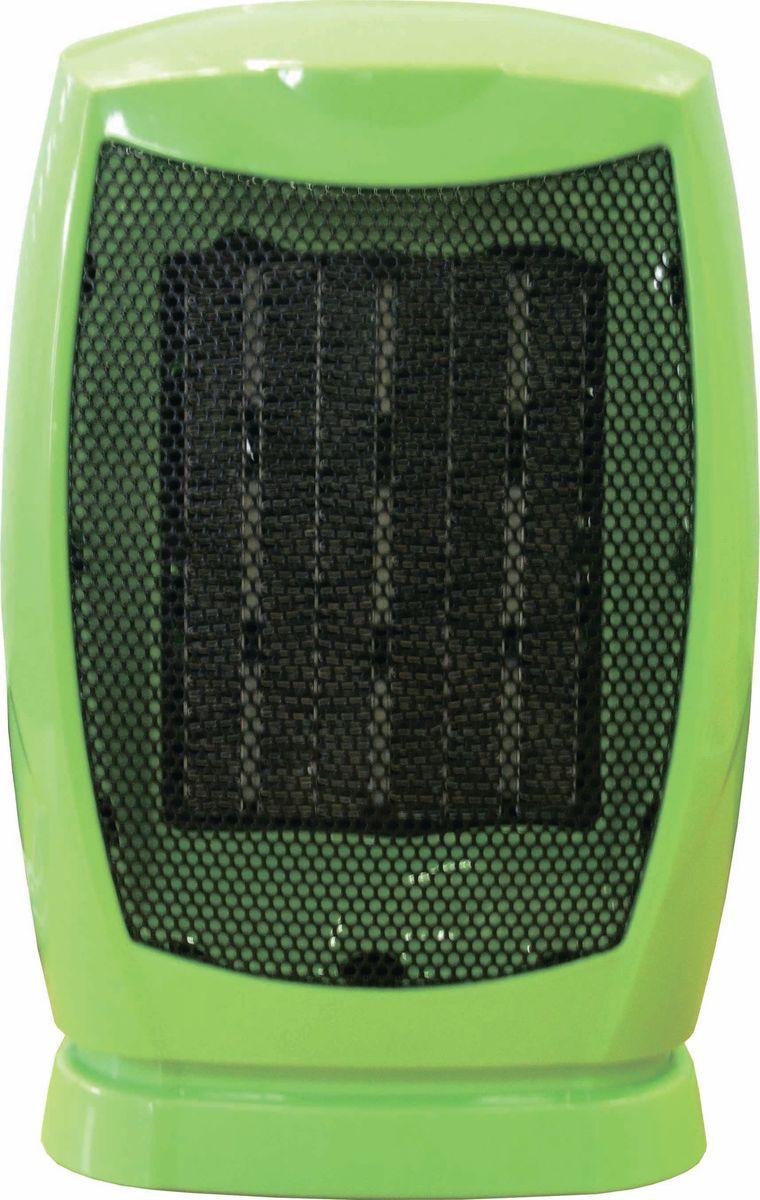 Irit IR-6001, Green тепловентиляторIR-6001Тепловентилятор электрический. Керамический нагревательный элемент. 1 режим работы. Автоматическое отключение в случае перегрева. Размер: 10 х 12 х 19 см. Мощность: 950 Вт. Рабочее напряжение: 220-240В/50Гц, цвет зеленый