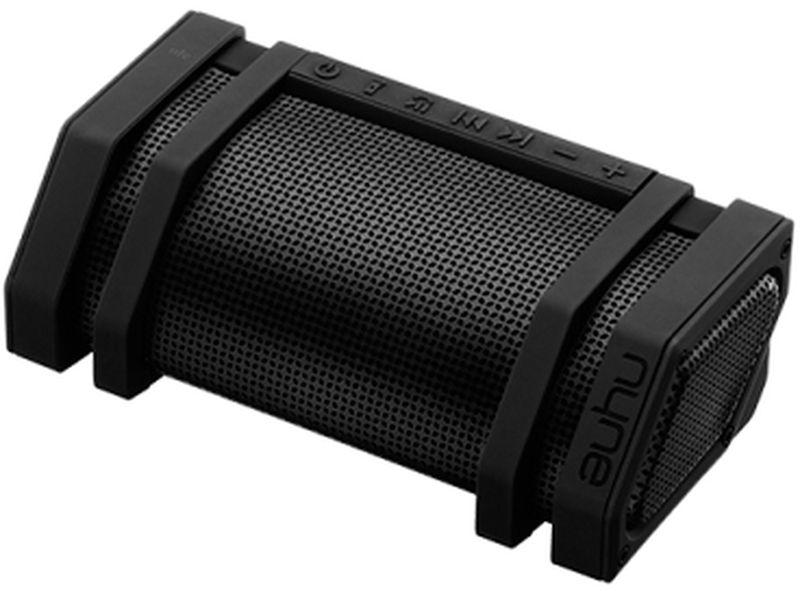 Nyne Edge, Black портативная Bluetooth-колонка71000235Bluetooth Колонка с защитой от струй воды, с мигающим фонарем, креплением на велосипед и мобильным зарядным устройством.Bluetooth 4.0 с радиусом действия 10 мСтерео звук 3.0Защита от струй воды IPX5Встроенный многорежимный светодиодный фонарьУниверсальное крепление на руль велосипедаМикрофон для громкой связиNFC для соединения в одно касаниеМобильное зарядное устройство~15 часов работы от встроенного аккумулятораAUX-вход ПодключениеBluetooth 4.0,3,5 мм Aux-in,NFCПитаниеаккумулятор (время работы ~15 ч)Аудиосистема 3.0 (два динамика, 1 твиттер и два пассивных излучателяРазмеры177,8 x 89 x 57,1 ммДополнительноIPX5,встроенная LED-вспышка,встроенный микрофон,встроенный Power Bank,универсальное крепление на велосипедный руль,индикатор уровня зарядаКомплектациякраткое руководство пользователя,кабель для зарядки,кабель 3,5 мм