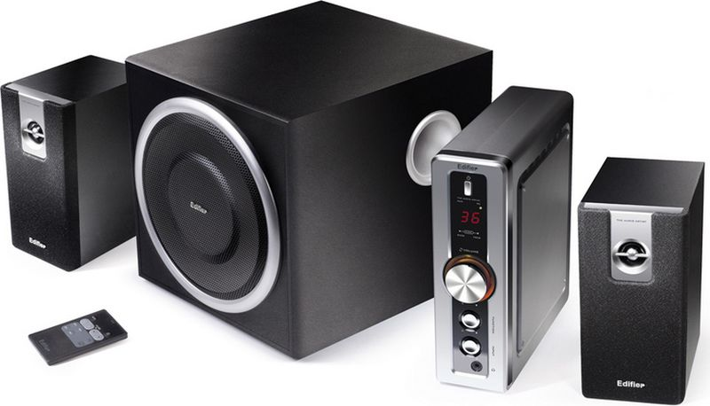 Edifier HCS2330, Black акустическая системаHCS2330 BlackКолонки Edifier HCS2330 Black Сабвуфер 35 ВтСателлиты по 9 Вт