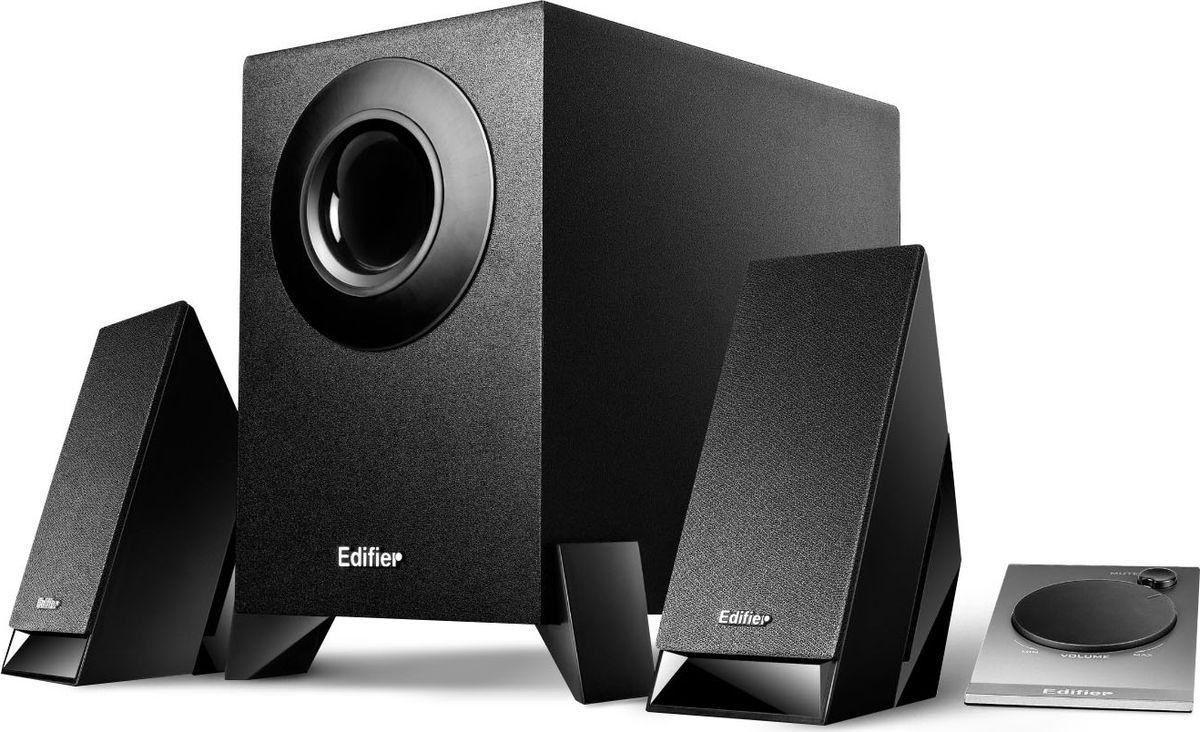 Edifier M1360, Black акустическая системаM1360 BlackКолонки Edifier M1360 Black Сателлиты: 2 x 2 ВтСабвуфер: 4.5 Вт
