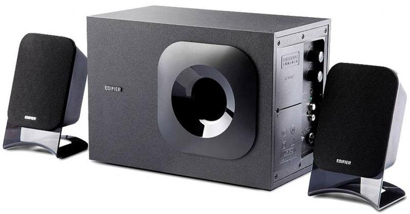 Edifier M1370, Black акустическая системаM1370 BlackКолонки Edifier M1370 Black Сателлиты по 8 ВтСабвуфер 10 Вт