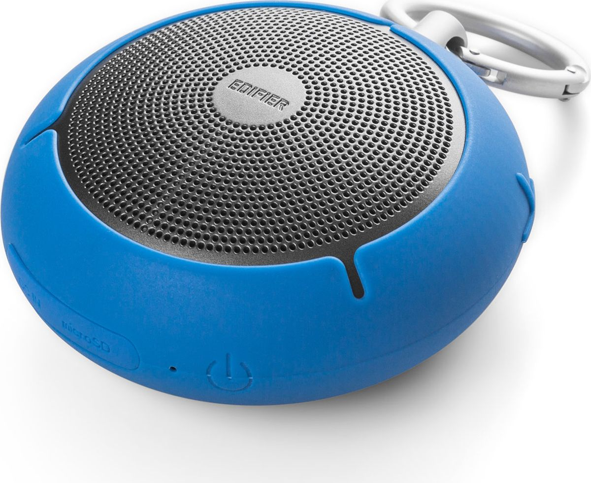 Edifier MP100, Blue акустическая системаMP100 BlueКолонки Edifier MP100 BlueПортативные, 4W, влагозащита,microSD