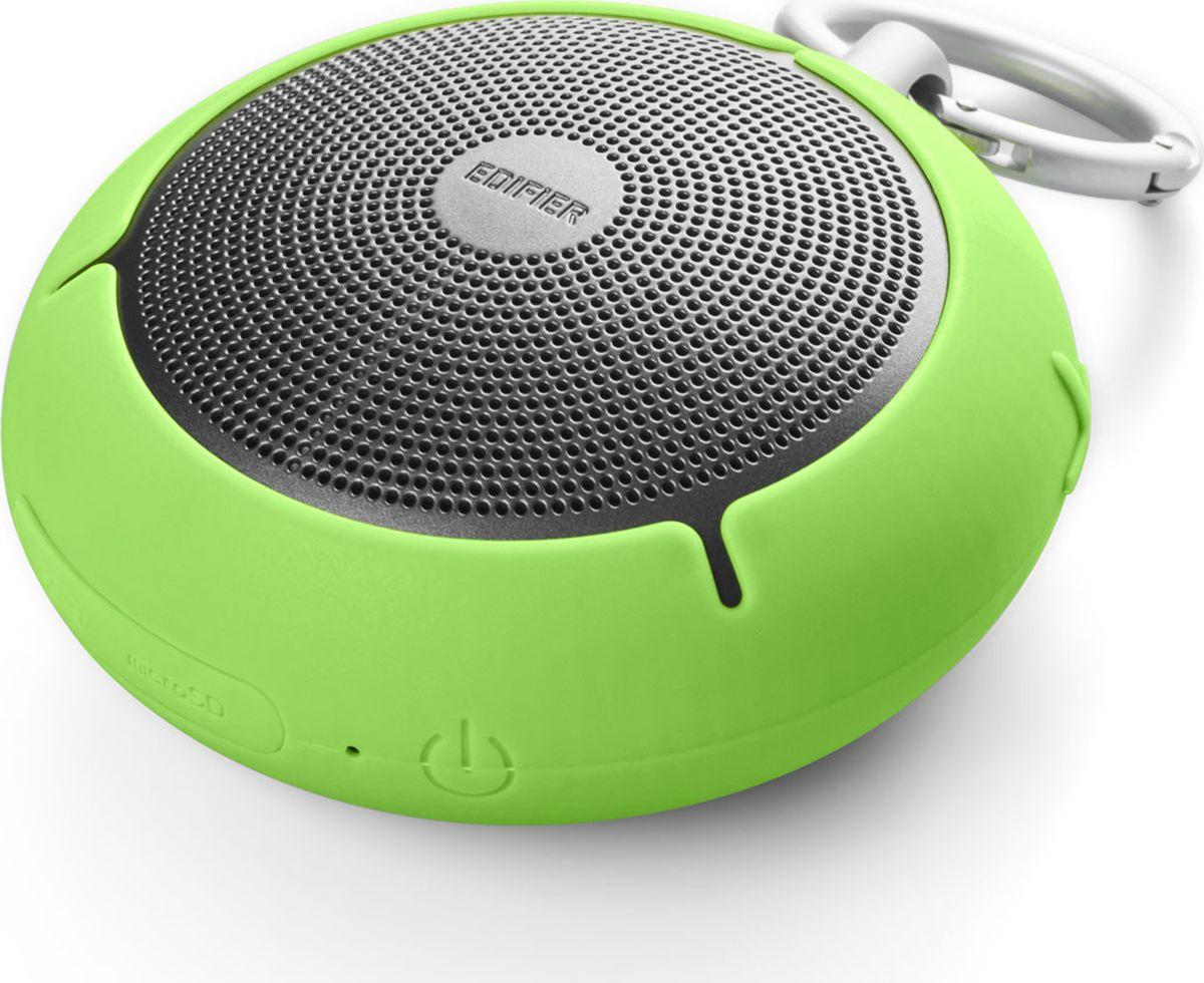 Edifier MP100, Green акустическая системаMP100 GreenКолонки Edifier MP100 GreenПортативные, 4W, влагозащита,microSD