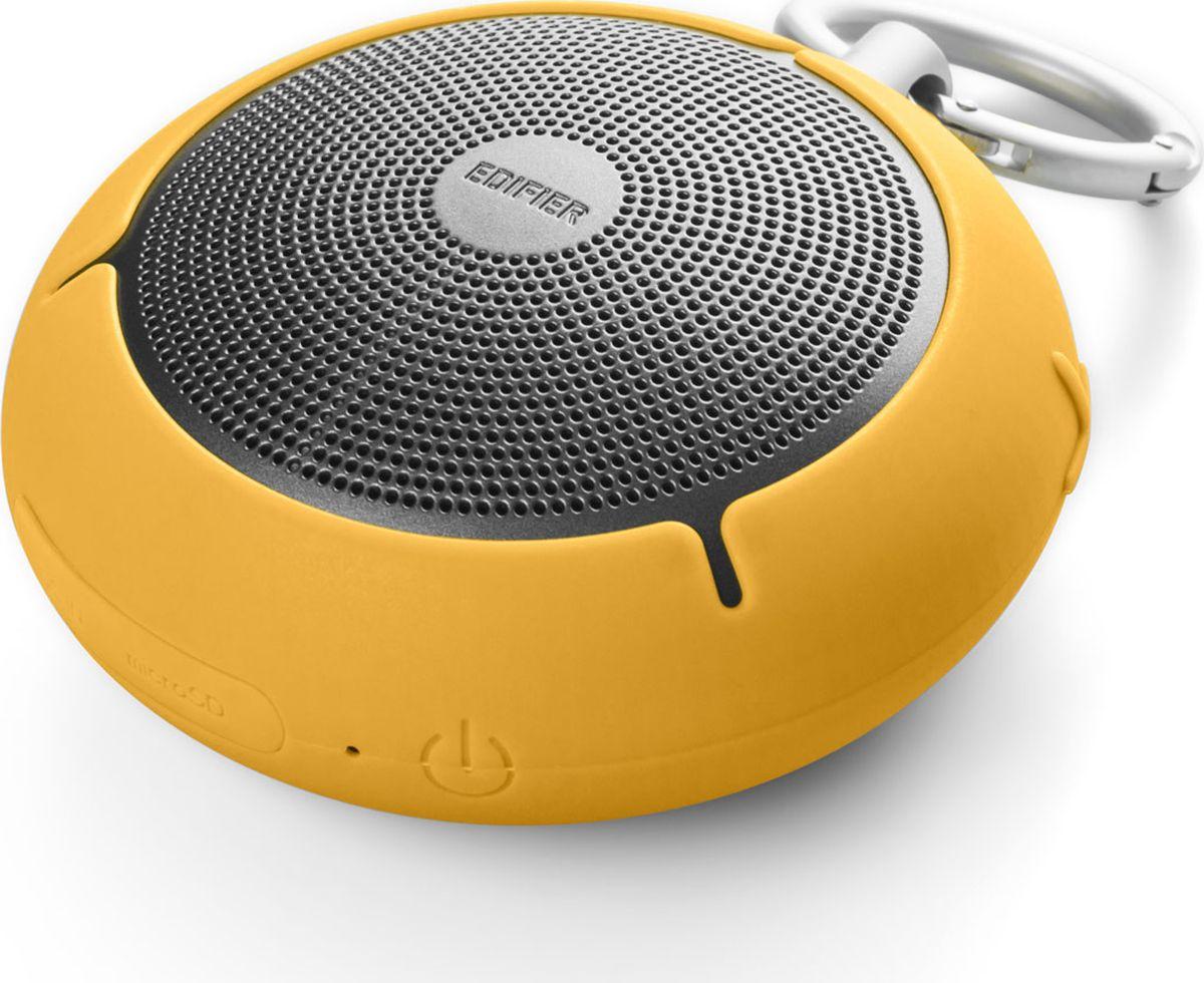 Edifier MP100, Yellow акустическая системаMP100 YellowКолонки Edifier MP100 YellowПортативные, 4W, влагозащита,microSD